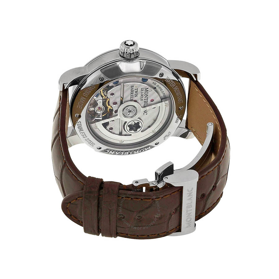 Montblanc nicolas rieussec chronograph automatic silver for Montblanc house