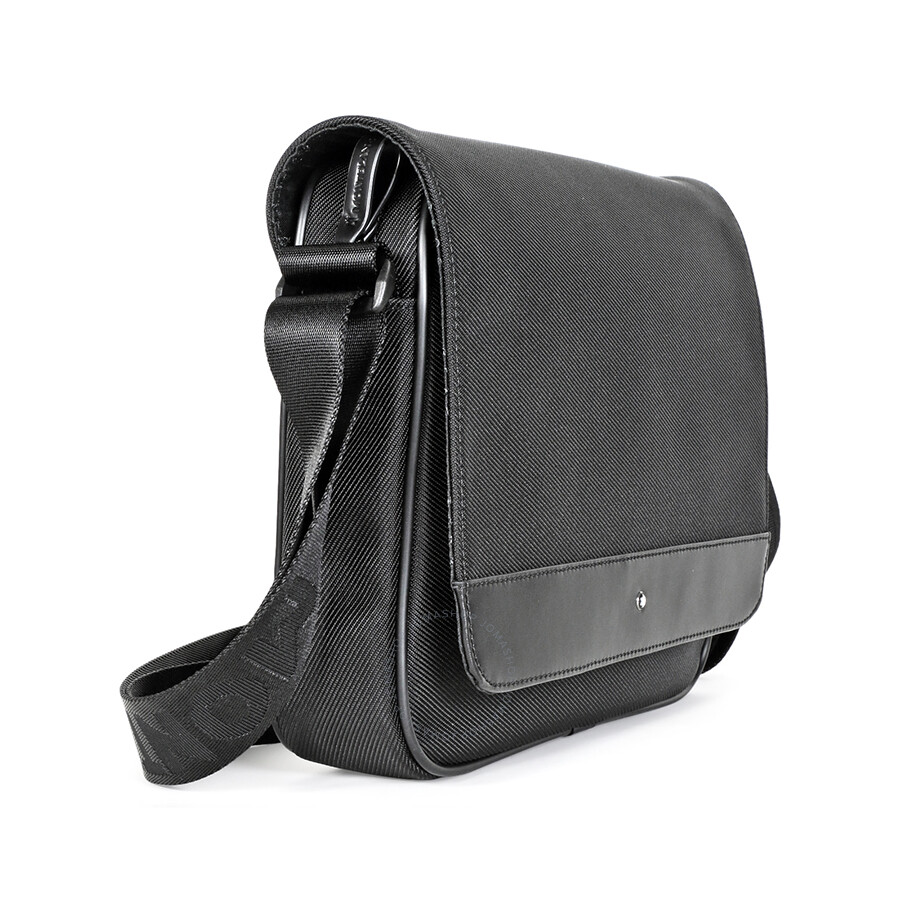 05b2ca5228 Montblanc Nightflight Messenger Bag 113137 - Montblanc - Handbags ...