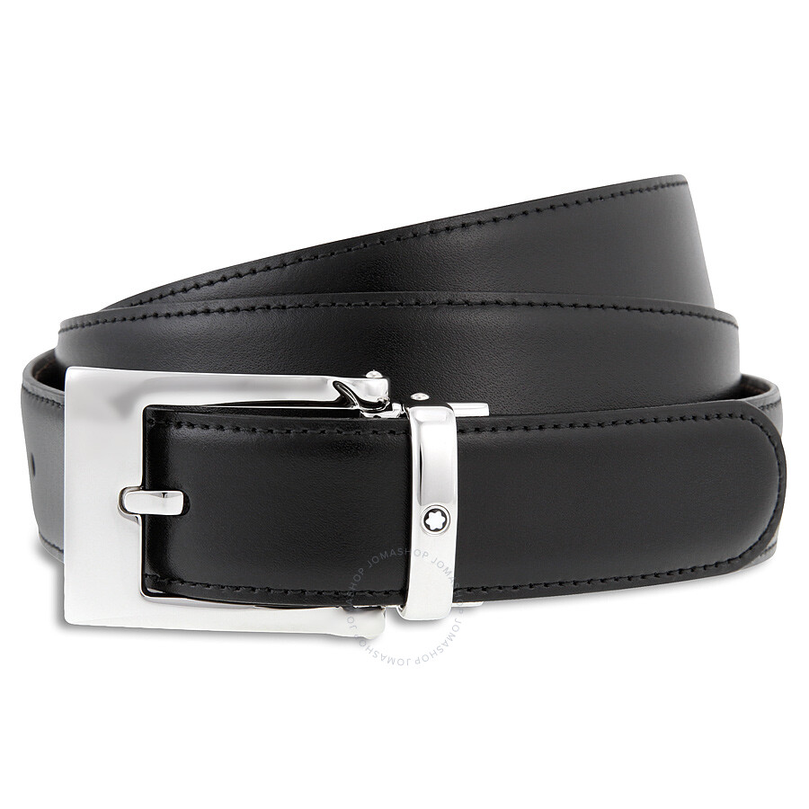 몽블랑 벨트 Montblanc Reversible Calfskin Leather Belt MB9774