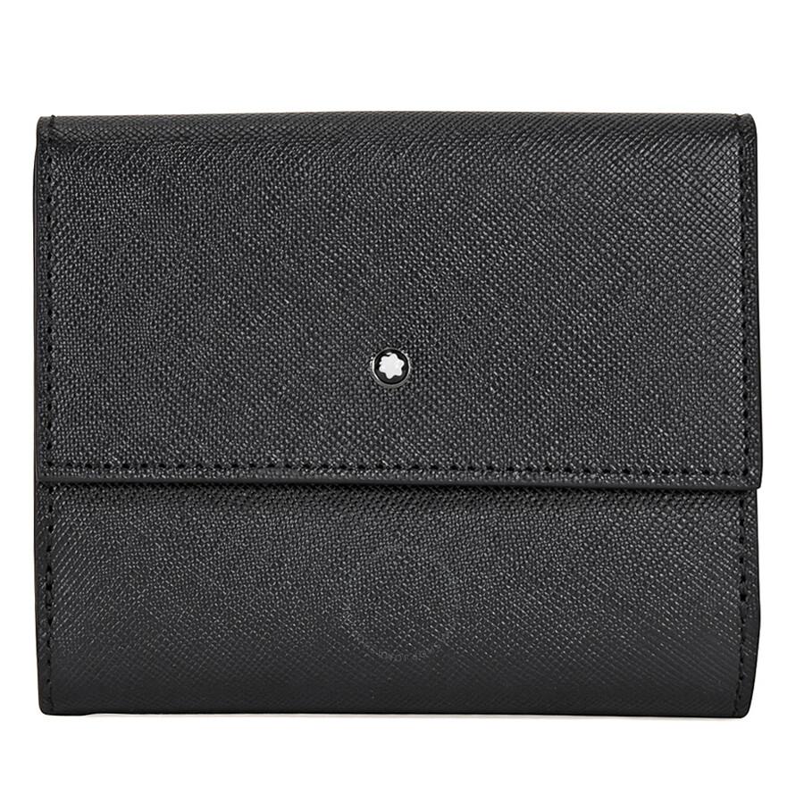 몽블랑 지갑 Montblanc Sartorial 5CC Wallet- Black 113255