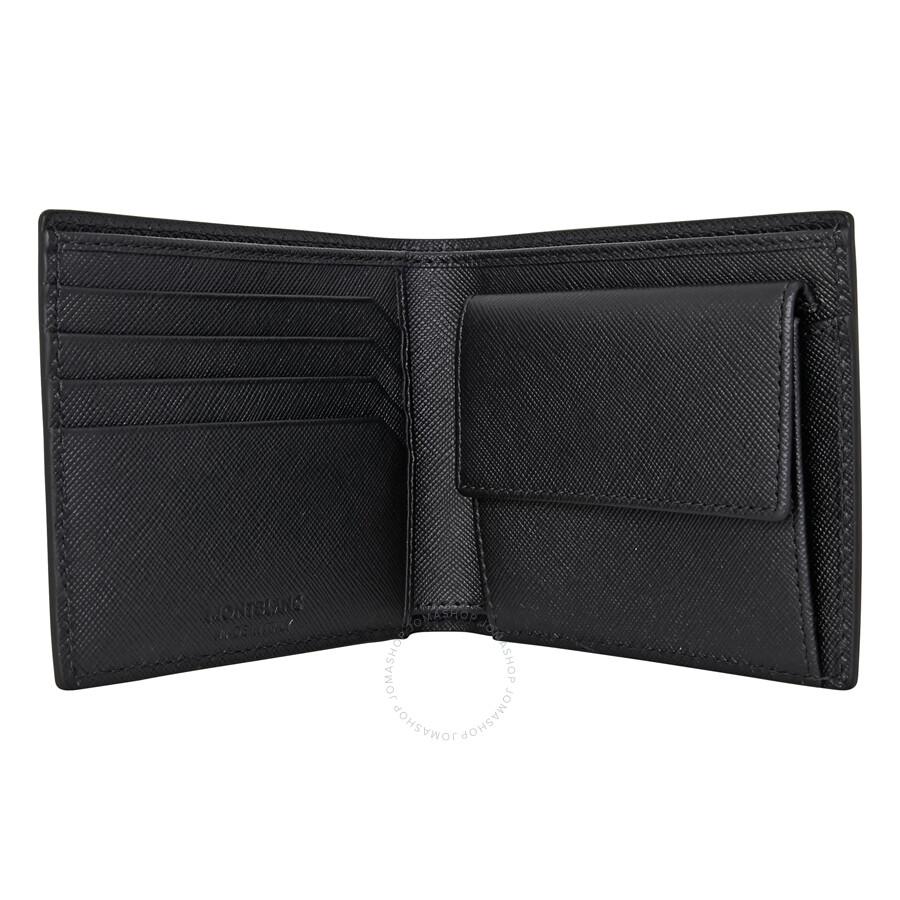 4b37588b6cbc8 Montblanc Sartorial Bi-fold 4CC Leather Wallet - Montblanc ...