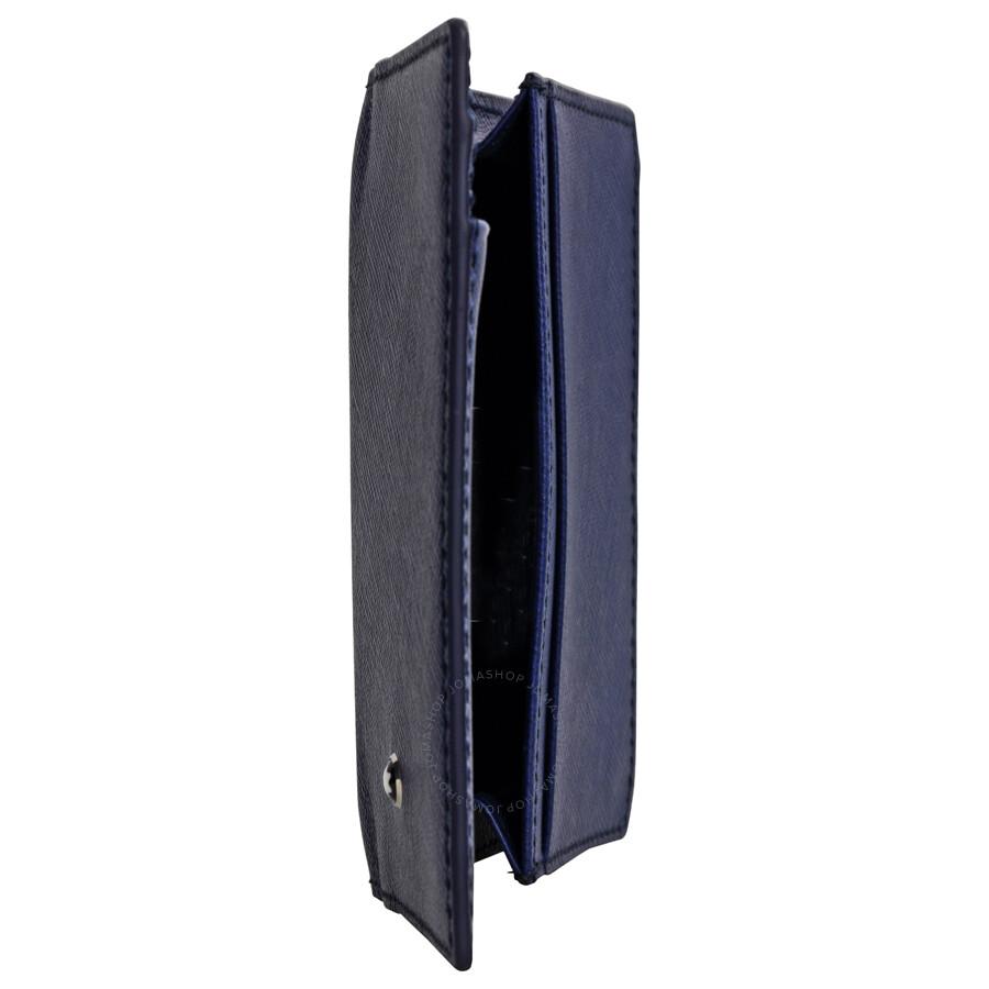 Montblanc sartorial leather business card holder indigo montblanc sartorial leather business card holder indigo reheart Gallery