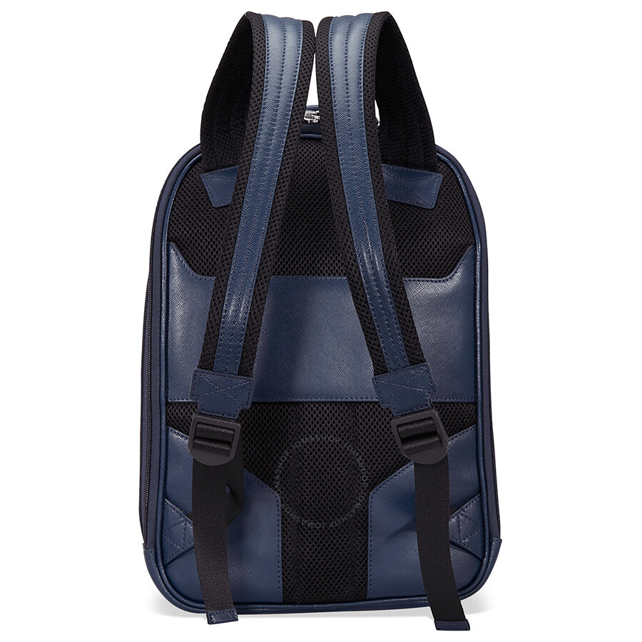 Montblanc Sartorial Small Leather Backpack - Indigo - Montblanc ... d06d0788d04f1