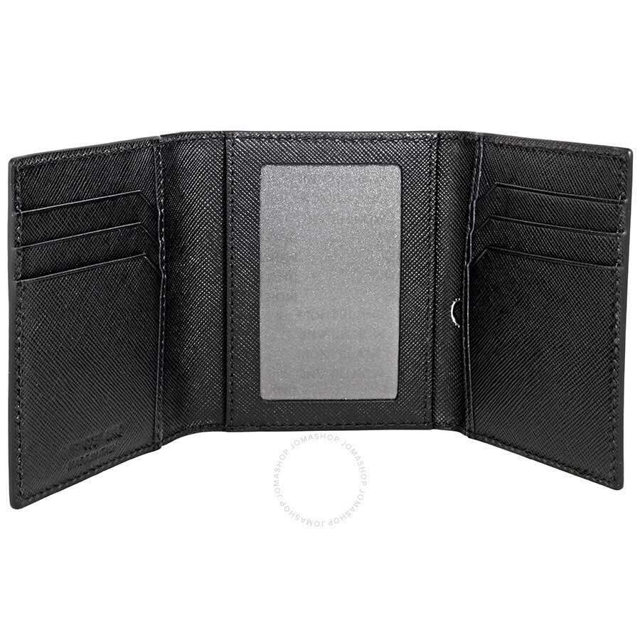 Montblanc sartorial trifold business card holder black montblanc montblanc sartorial trifold business card holder black colourmoves Images
