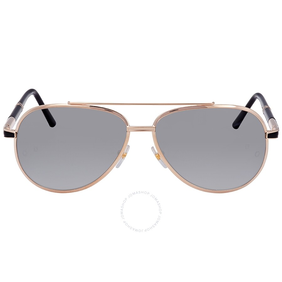 8f62cfb1a790 ... Montblanc Shiny Rose Gold Aviator Sunglasses MB526S 33D 62 ...