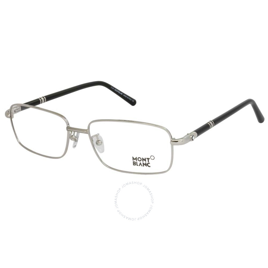 f16f87c374 Montblanc Silver Eyeglasses MB475U V 016 58 - Montblanc - Sunglasses ...