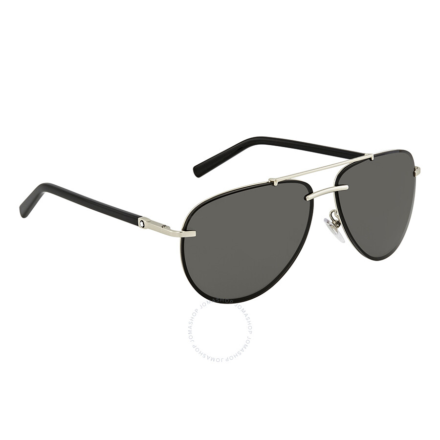 e16ce064cc26 Montblanc Smoke Aviator Sunglasses MB596S 16A Item No. MB596S 16A 62