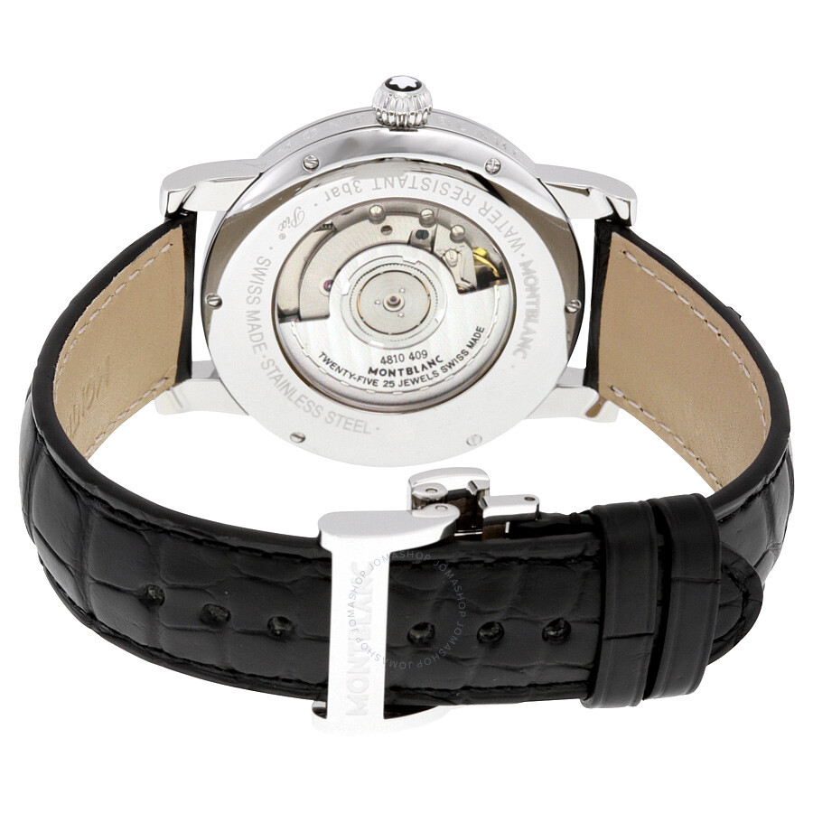 Montblanc Star Automatic Silver Guilloche Dial Unisex
