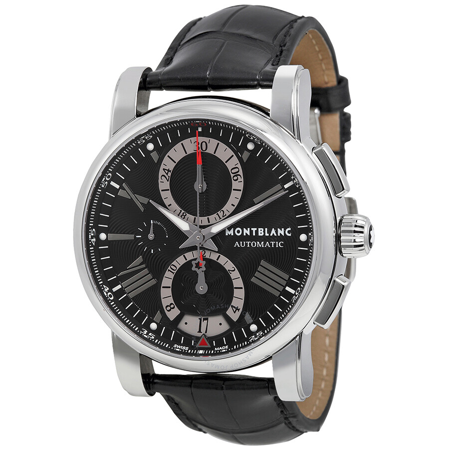 montblanc star chronograph automatic men 39 s watch 102377 star montblanc watches jomashop