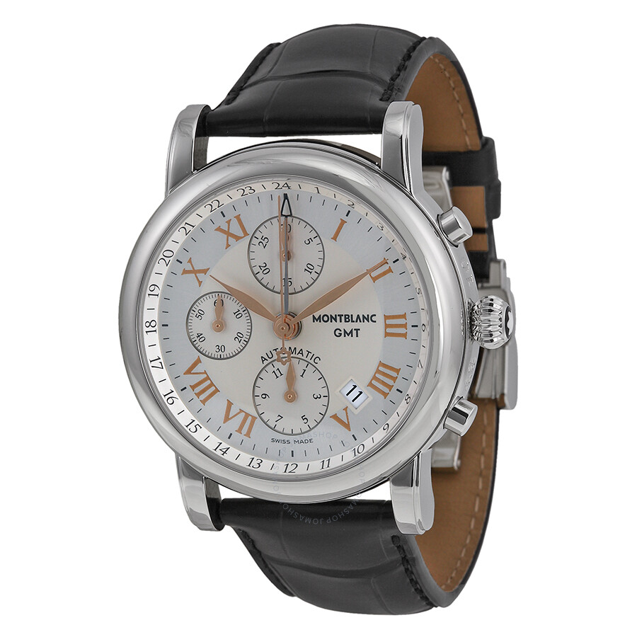 Montblanc Star Chronograph Gmt Automatic Men 39 S Watch 36967