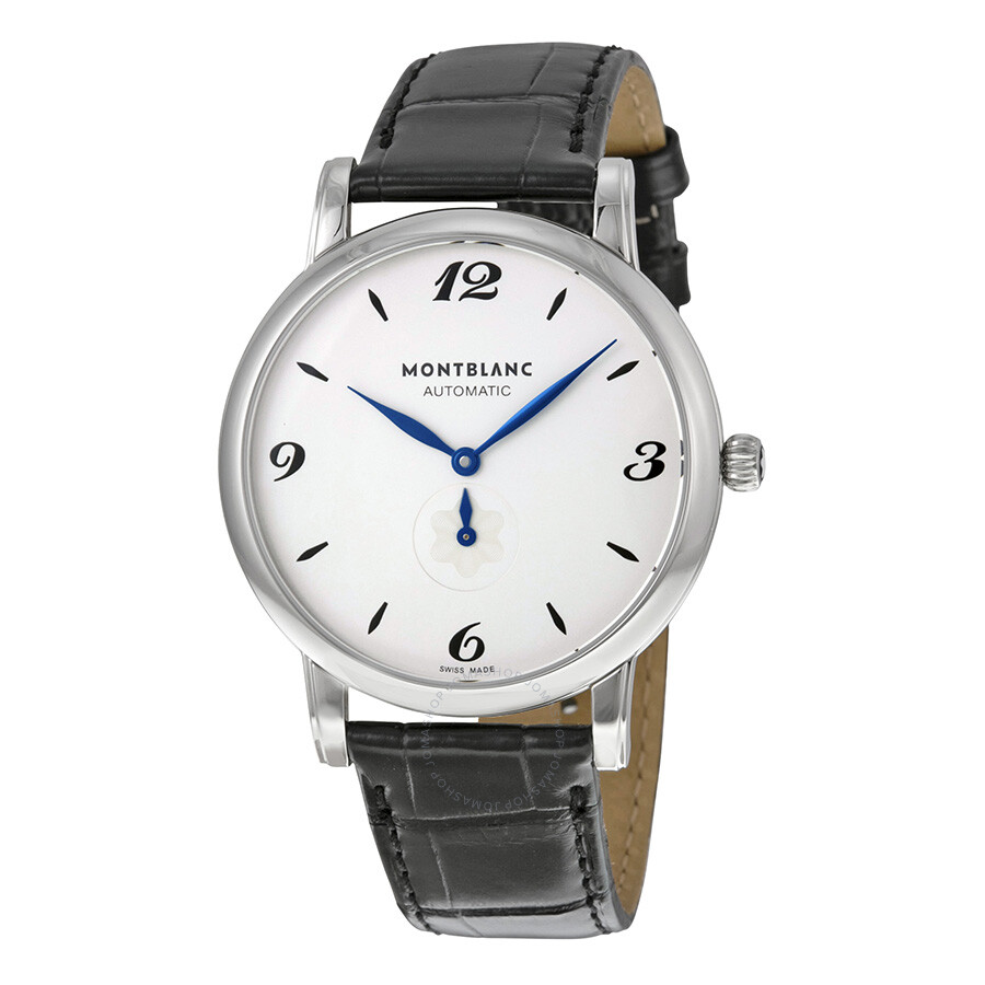 Montblanc star classique white dial men 39 s watch 107073 for Montblanc house