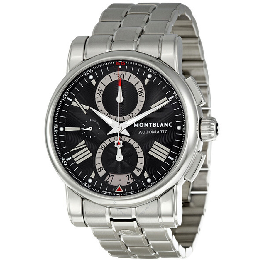 d961da4edbc Montblanc Star Stainless Steel Chronograph Men's Watch 102376 - Star ...