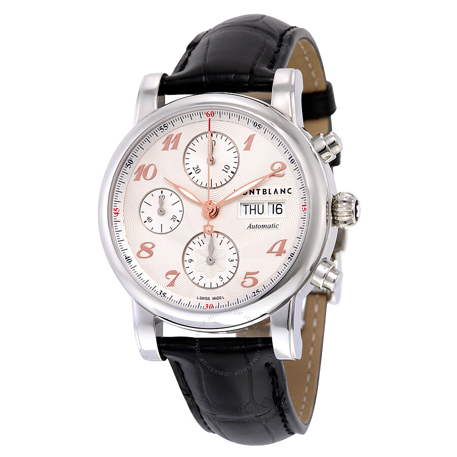 Montblanc Star Traditional Chronograph Automatic Silver