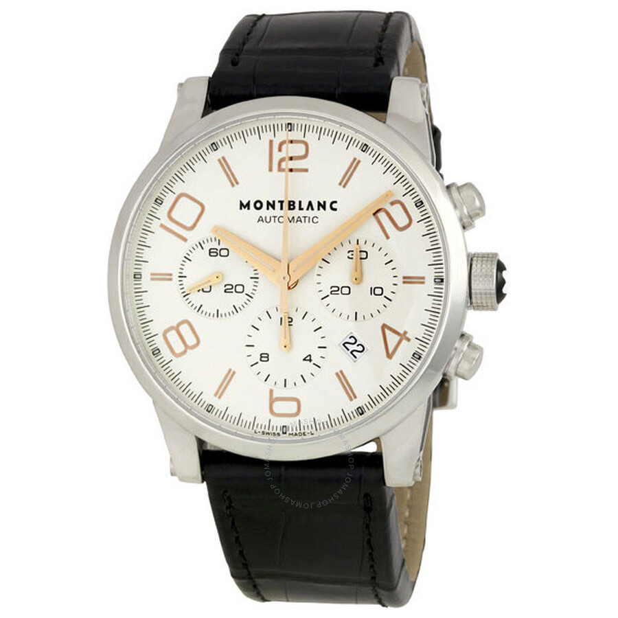 Montblanc timewalker automatic chronograph men 39 s watch for Montblanc house