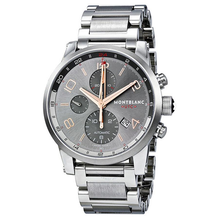 5caf1bb2ab6 MontBlanc Timewalker Chronograph UTC Automatic Men's Watch 107303 ...