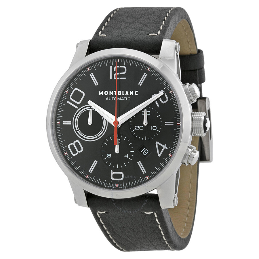 Montblanc timewalker men 39 s watch 107572 timewalker for Montblanc house