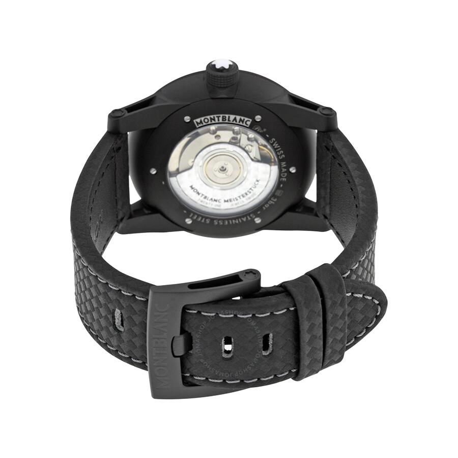 ce0fff01d ... Montblanc Timewalker Urban Automatic Black Dial Men's Watch 113876