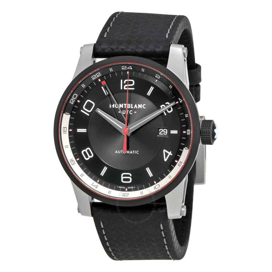 Montblanc timewalker utc automatic men 39 s watch 115080 for Montblanc house
