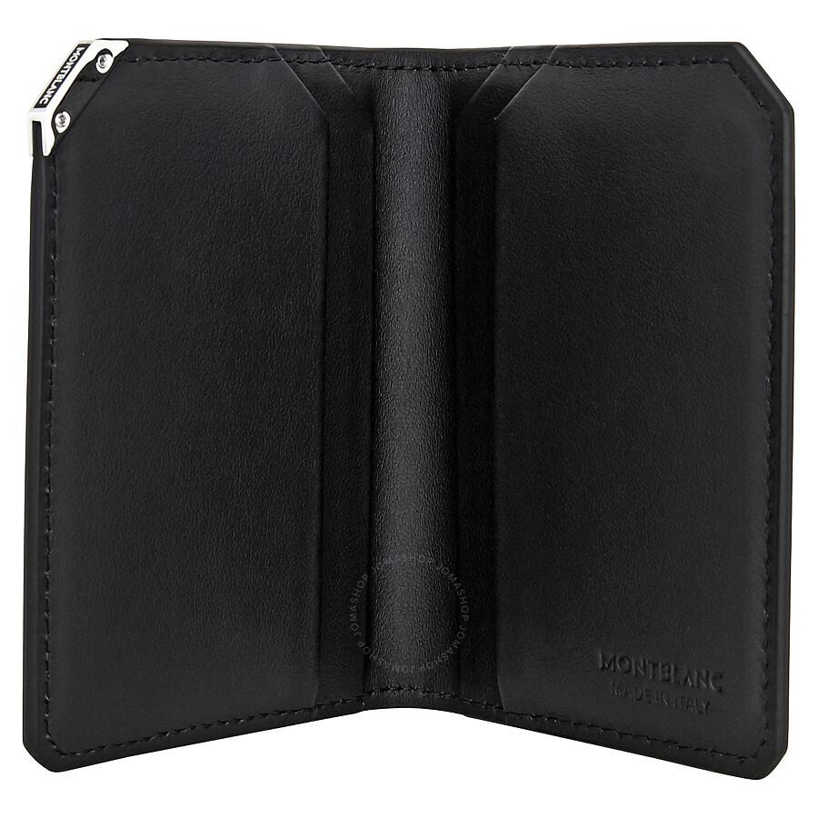 MontBlanc Urban Spirit Black Buisness Card Holder- Black - Montblanc ...