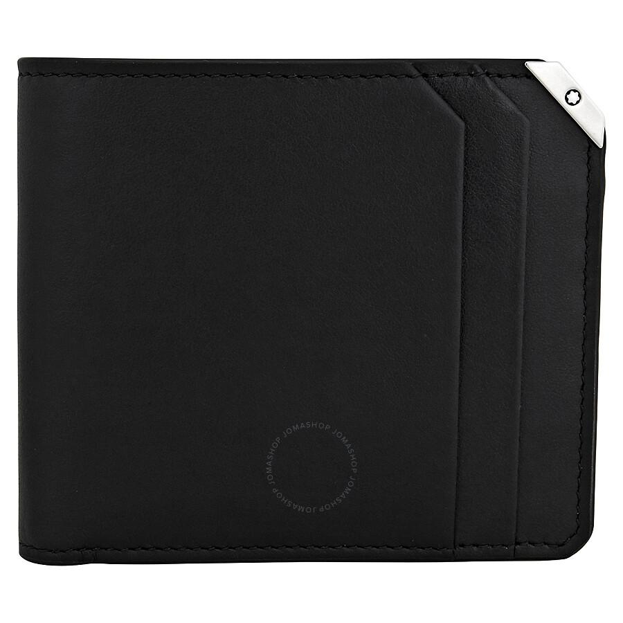 52fc3075a3 MontBlanc Urban Spirit Black Leather Wallet - Jomashop