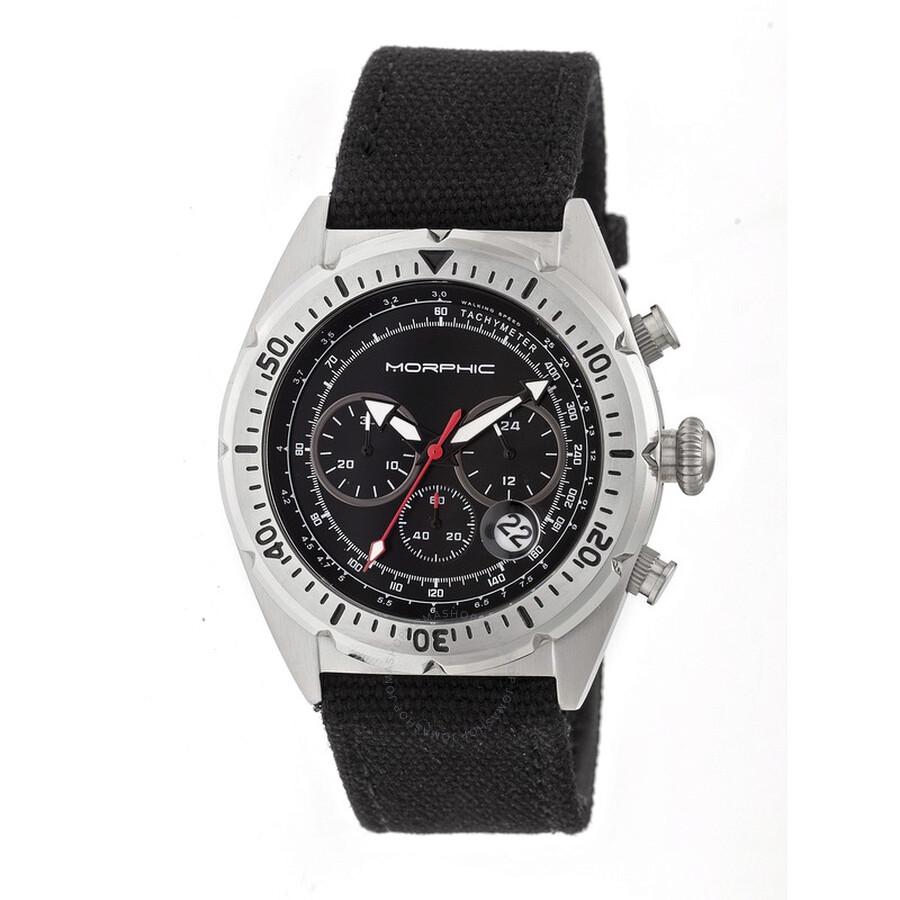 9bf2213ad Morphic M53 Series Chronograph Black Dial Men's Watch 5301 - Morphic ...