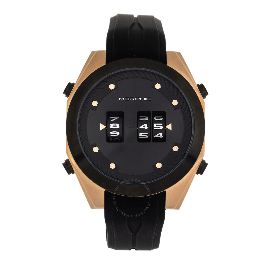 morphic-m76-series-quartz-black-dial-men