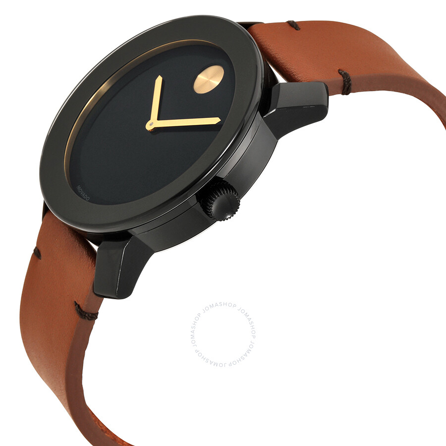 6f385d6f0 Movado Bold Black Museum Dial Men's Watch 3600305 - Bold 42mm ...