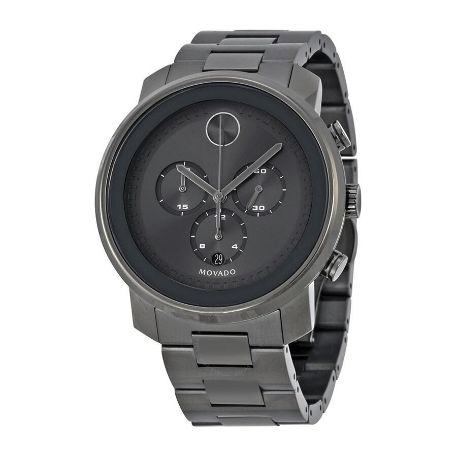 movado bold chronograph grey sunray dial men u0026 39 s watch