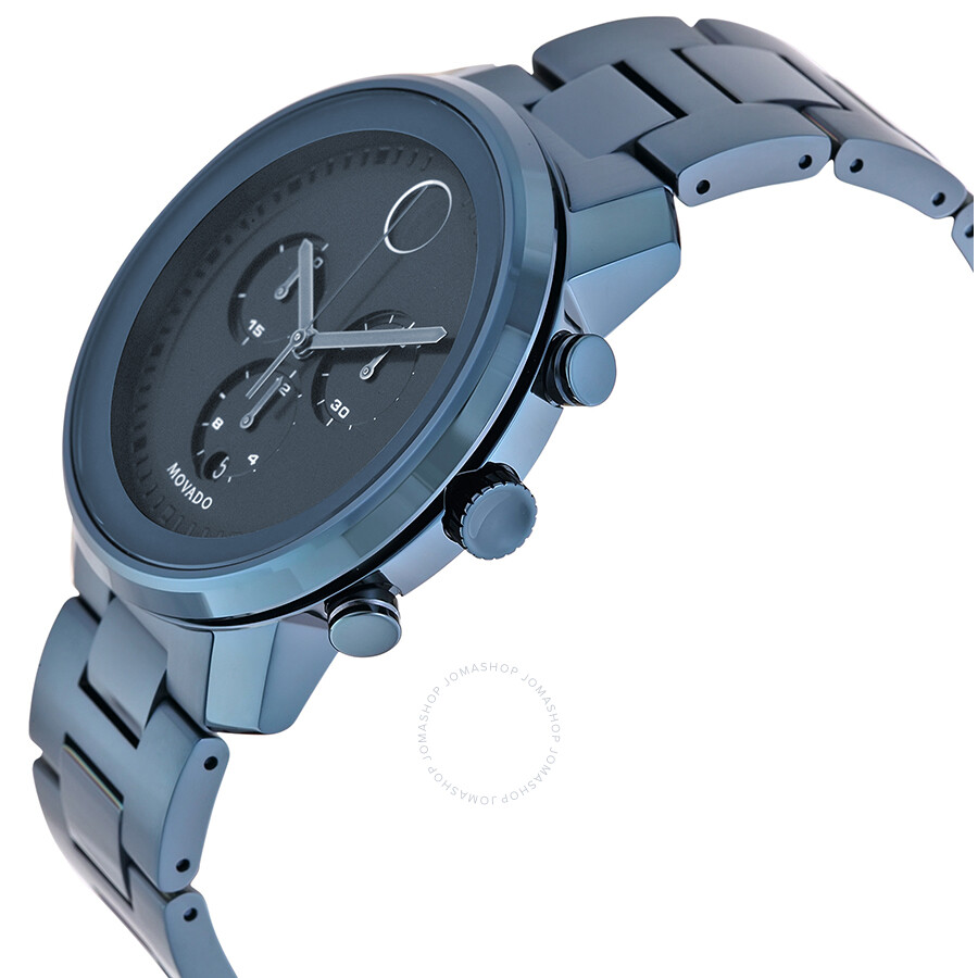 c7f029580 ... Movado Bold Dark Navy Dial Blue Ion-plated Men s Watch 3600279 ...