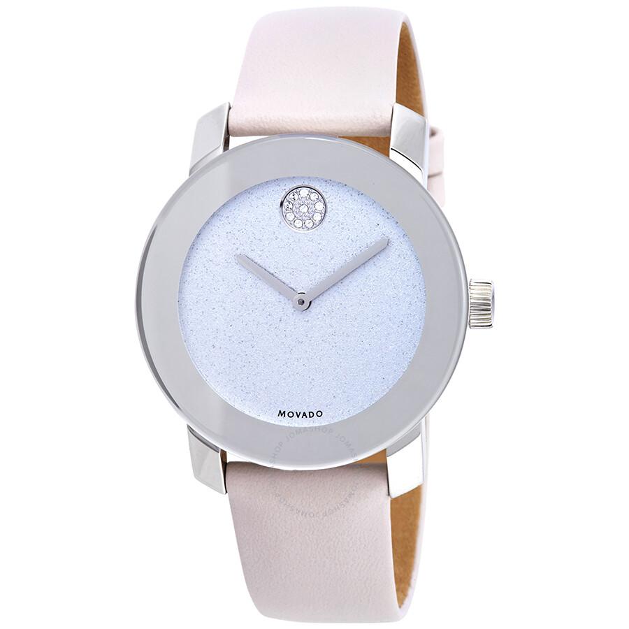 67b7ef0b8f Movado Bold Silver Glitter Dial Ladies Watch 3600522 - Bold - Movado ...