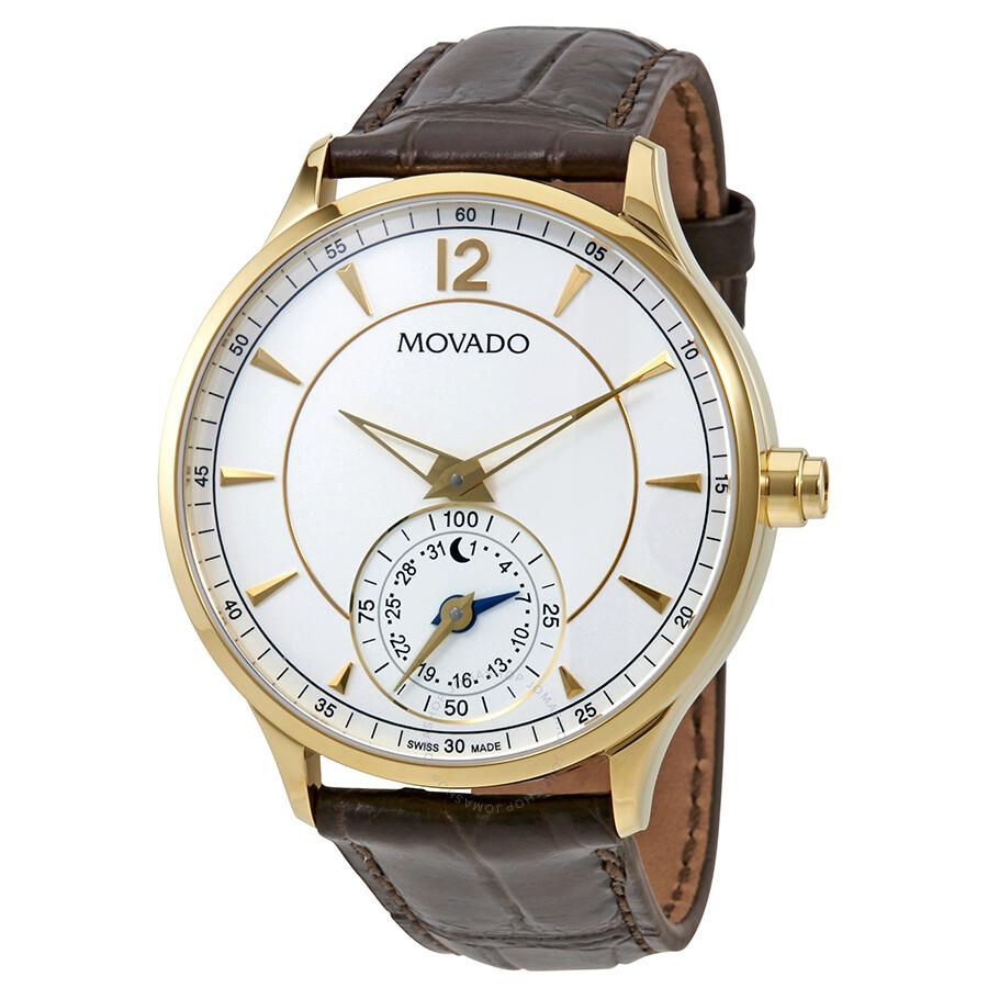Movado Circa Motion Yellow Gold Tone Men S Smart Watch 0660008