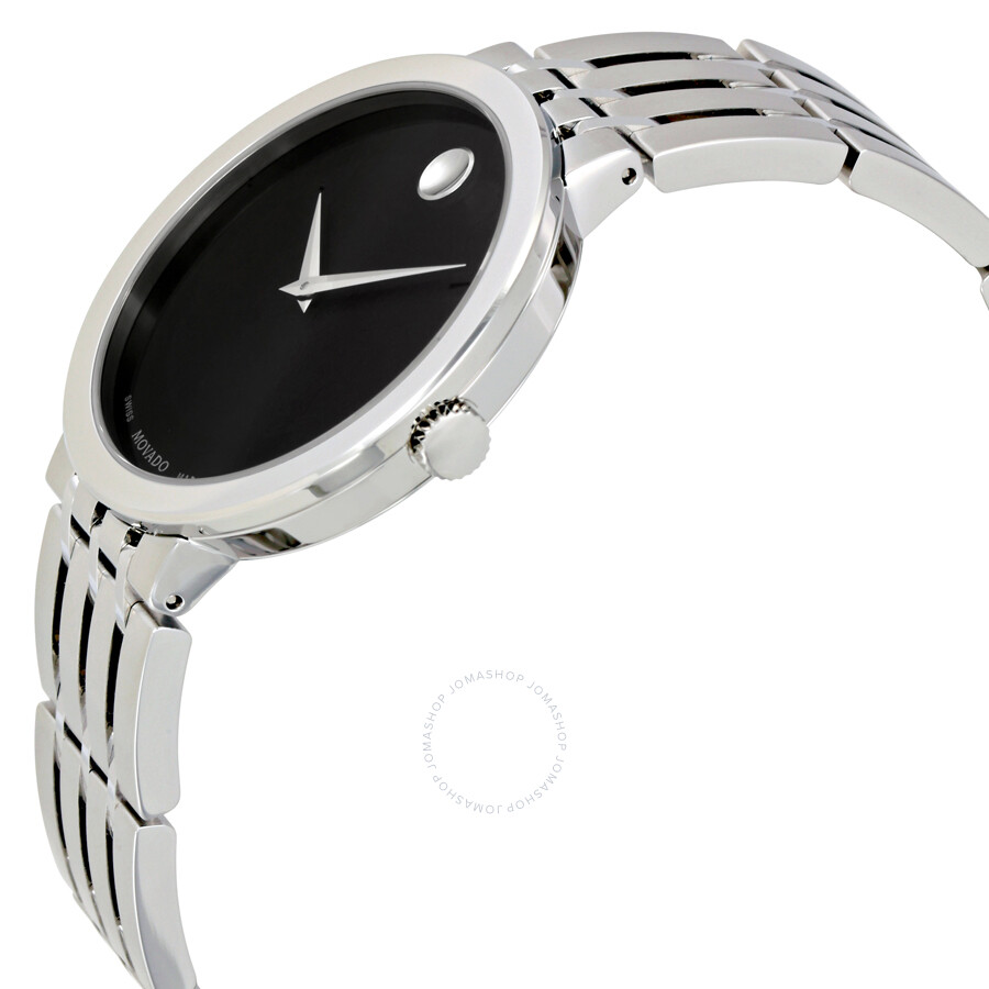 movado esperanza black dial stainless steel men s watch 0607057 movado esperanza black dial stainless steel men s watch 0607057