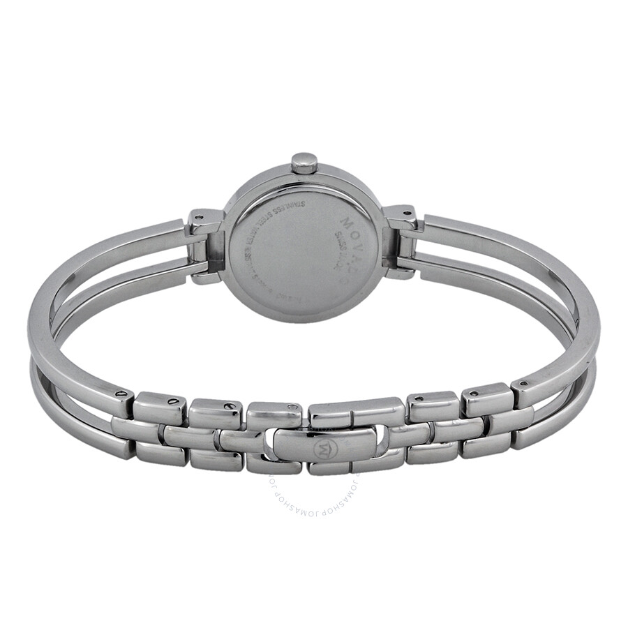 Movado Harmony Las Watch Stainless Steel Bracelet With Diamonds 0606239