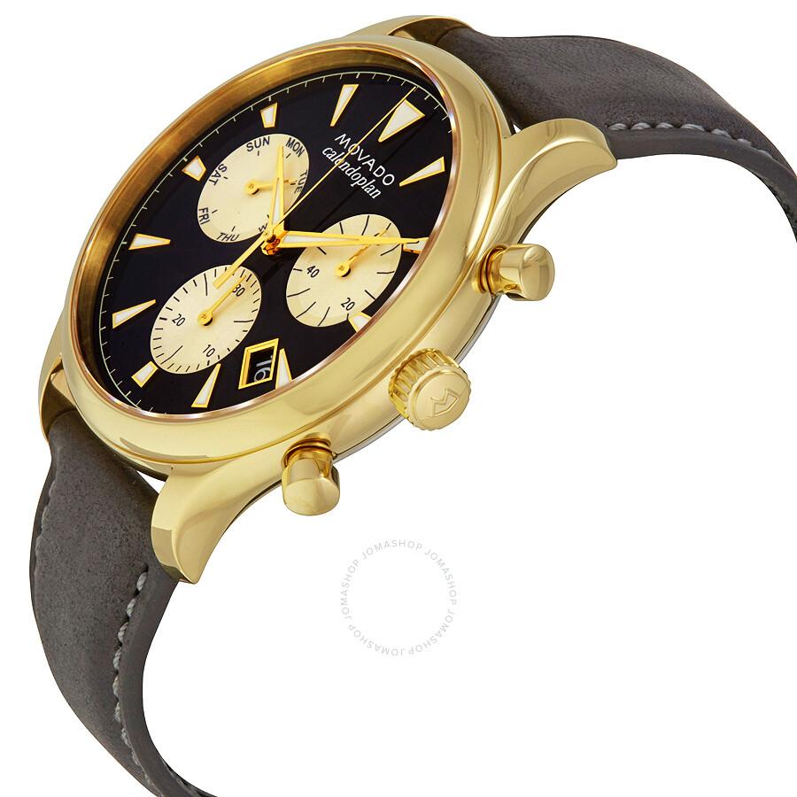 761c099fe ... Movado Heritage Chronograph Navy Blue Dial Men's Watch 3650006 ...