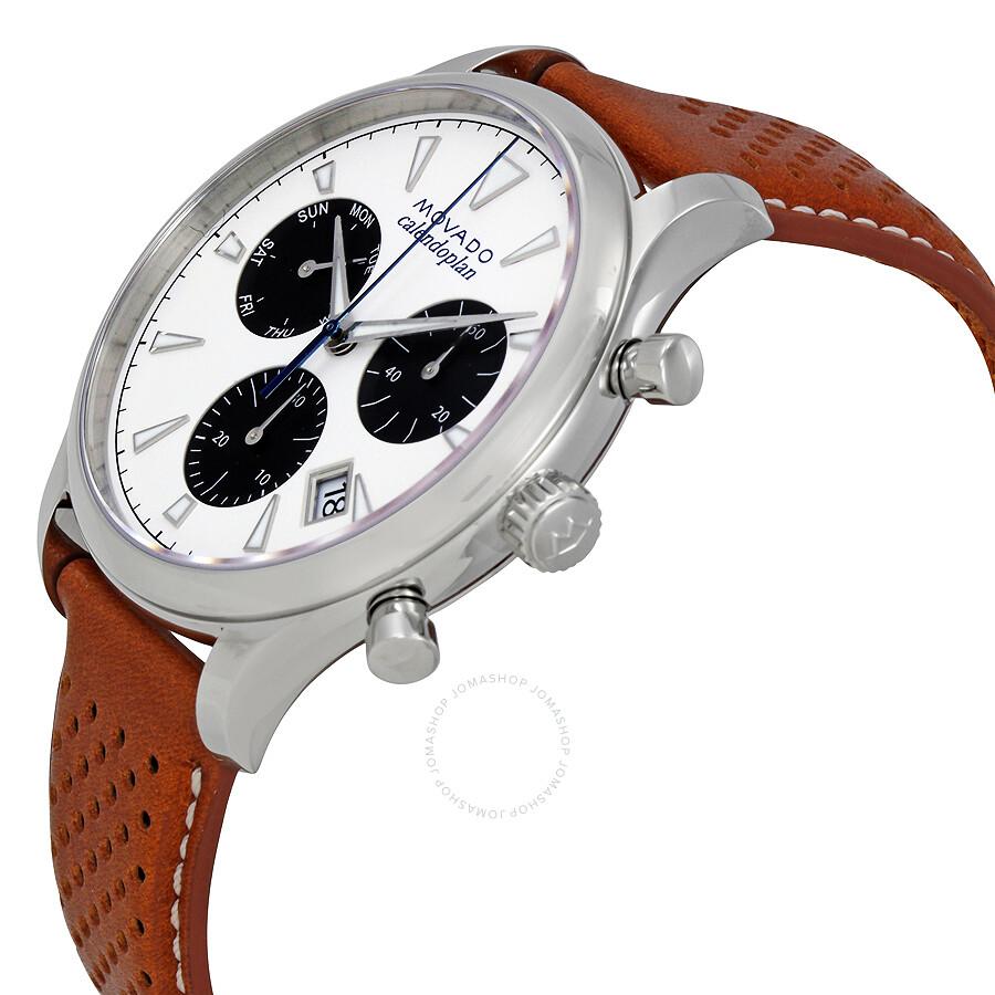 cd3bdec73 ... Movado Heritage White Dial Men's Chronograph Watch 3650008 ...