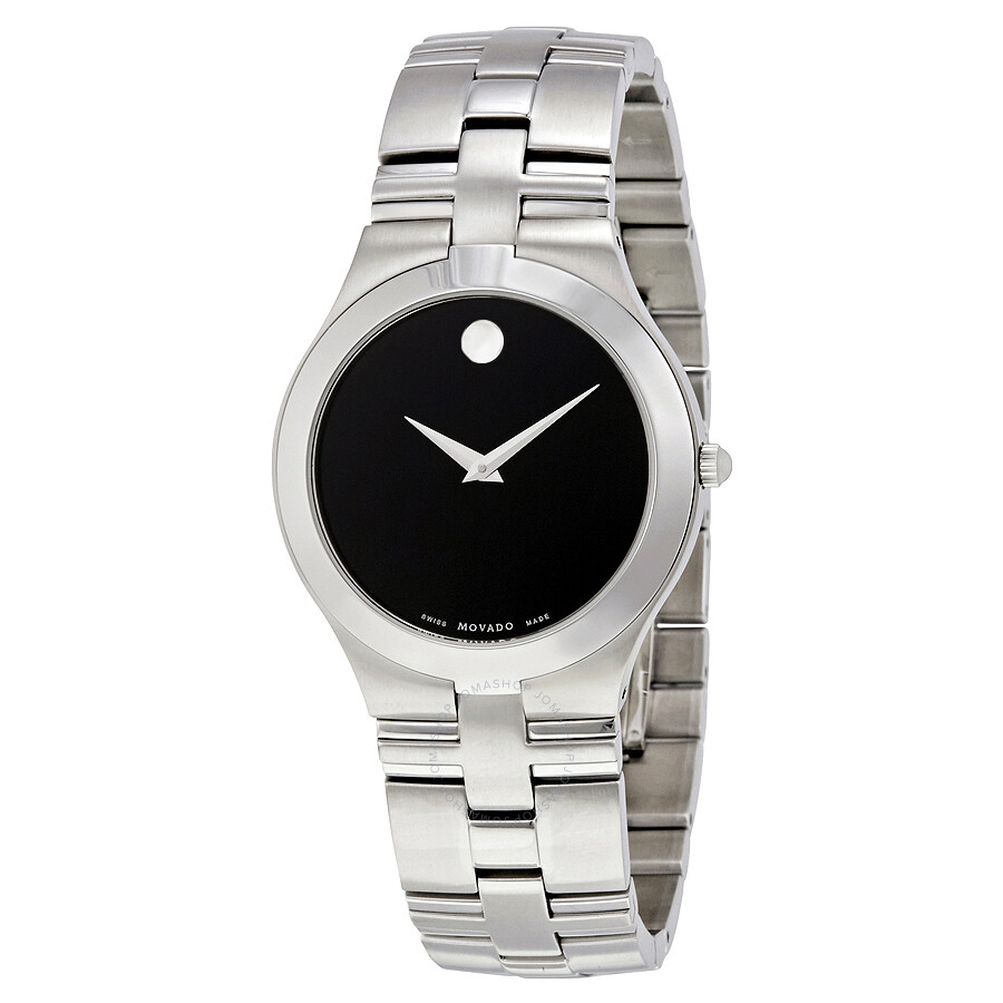 movado juro black dial men s watch 0605023 juro movado movado juro black dial men s watch 0605023