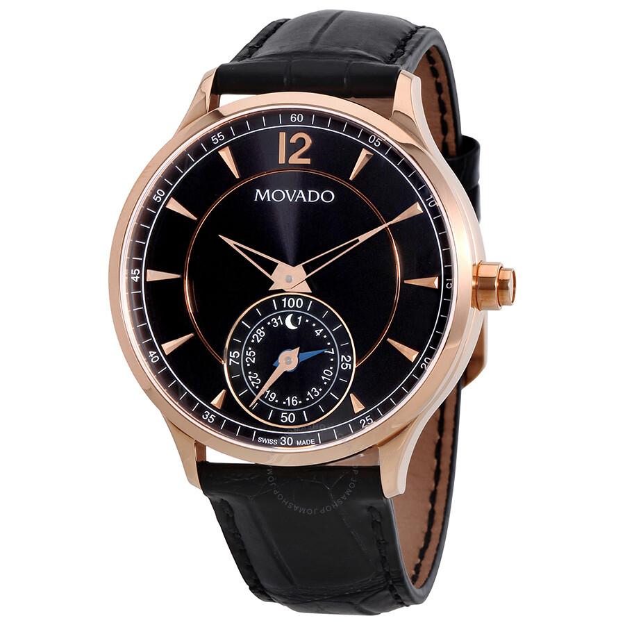 Movado Motion Black Dial Men S Smart Watch 0660009