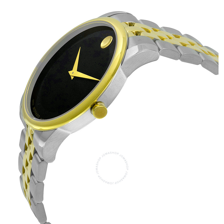 2e17e455717 Movado Museum Black Dial Two-tone Men s Watch 0606899 - Museum ...