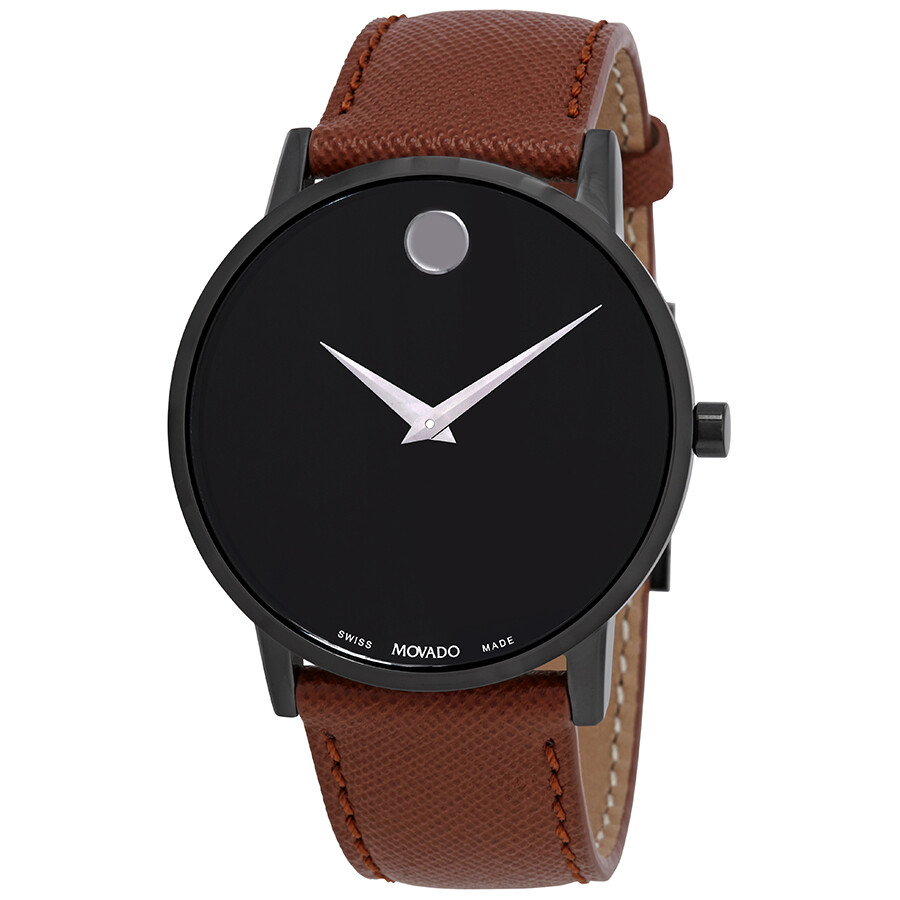 4d30226a49d Movado Museum Classic Black Dial Men s Watch 0607198 - Museum ...