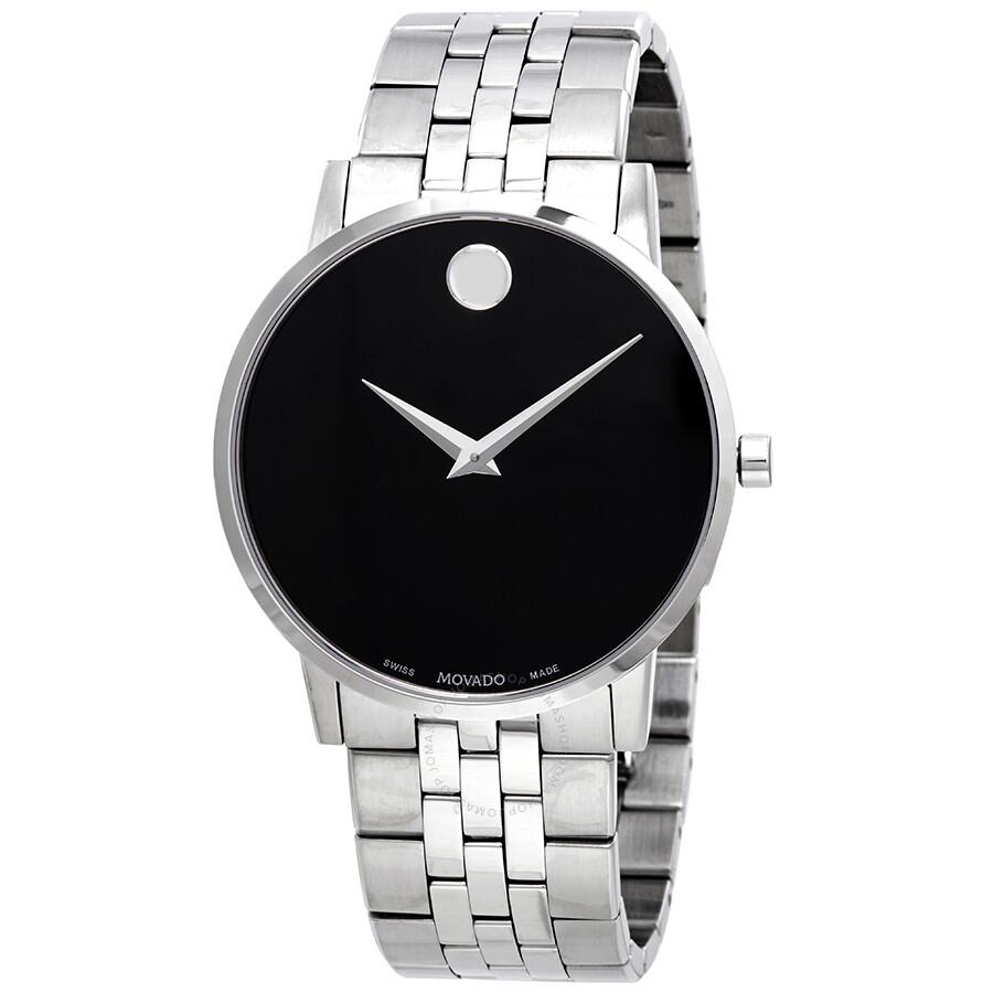84f1fae00b474 Movado Museum Classic Black Dial Men s Watch 0607199 - Museum ...