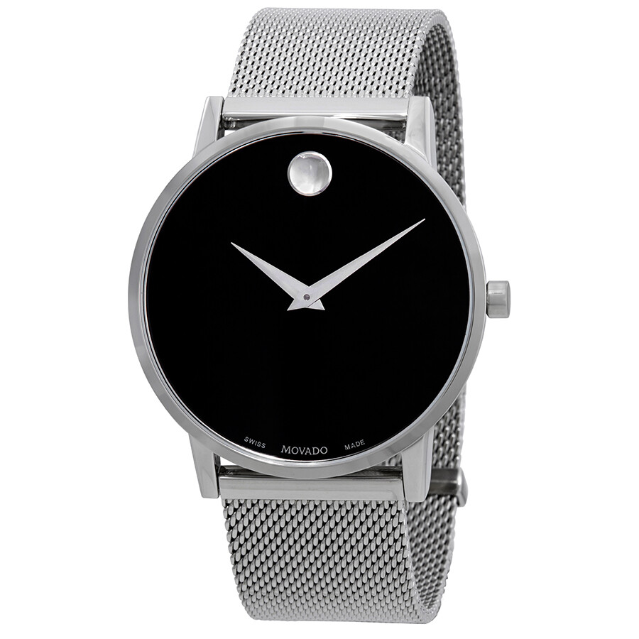 73b745746db Movado Museum Classic Black Dial Men s Watch 0607219 - Museum ...