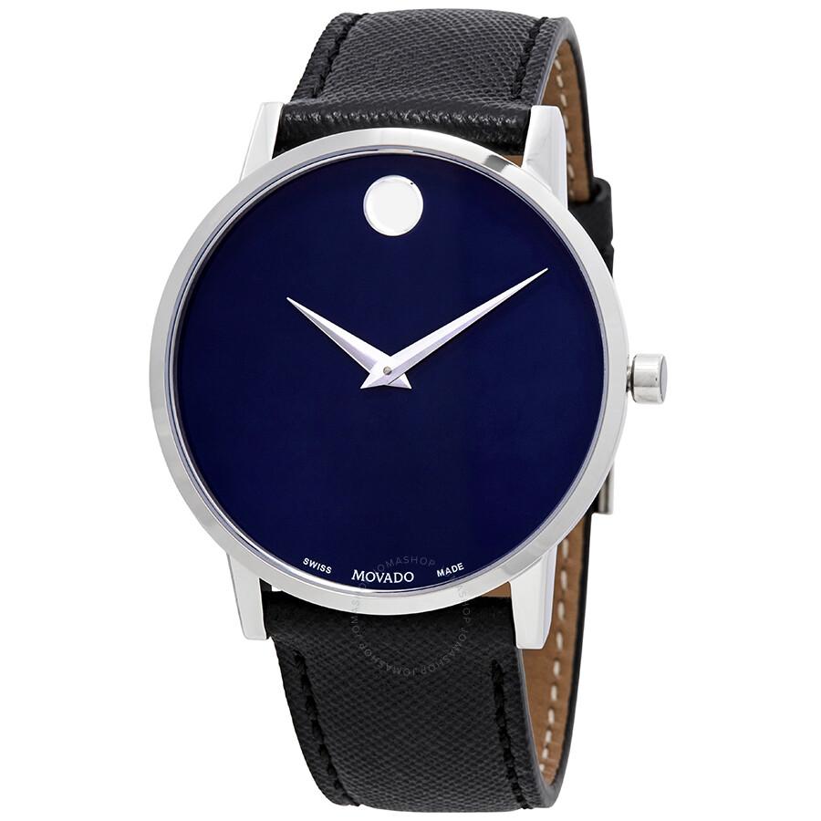Movado Museum Classic Blue Dial Men S Watch 0607197