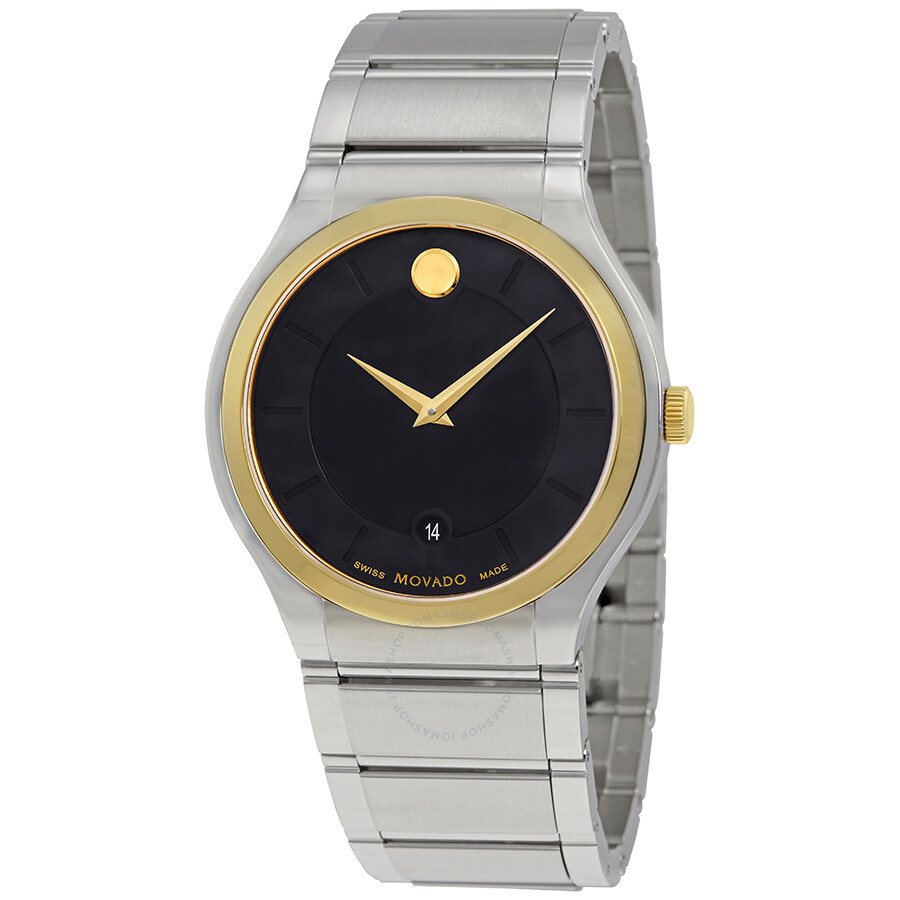 334e667df6d Movado Quadro Black Dial Men s Watch 0606954 - Movado - Watches ...