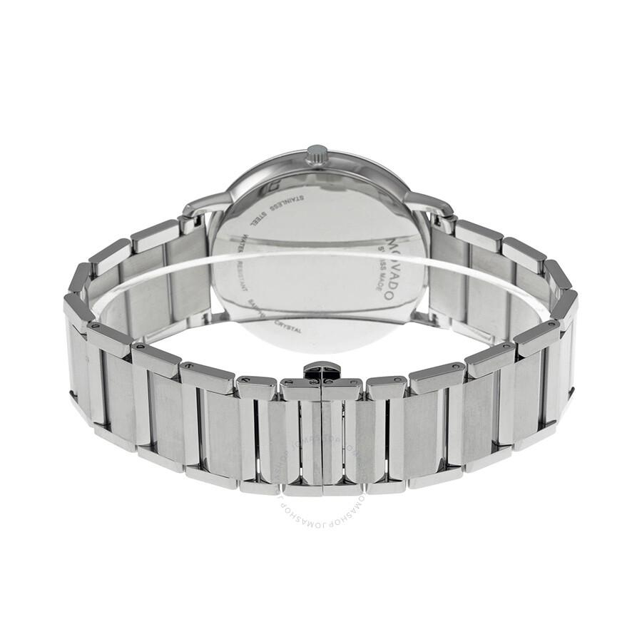 Movado Shire Silver Dial Steel Bracelet Men S Watch 0606881
