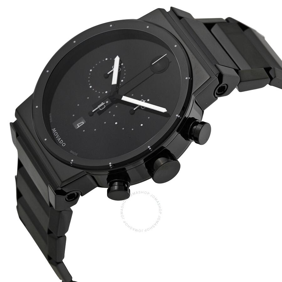 movado sapphire synergy black dial men s watch 0606801 safiro movado sapphire synergy black dial men s watch 0606801
