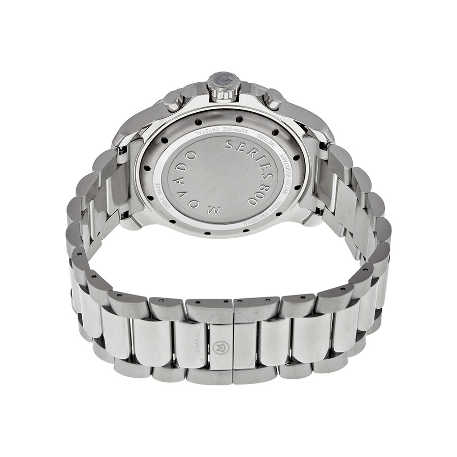 13114f96a3b69 ... Movado Series 800 Chronograph Silver Dial Stainless Steel Men s Watch  2600111