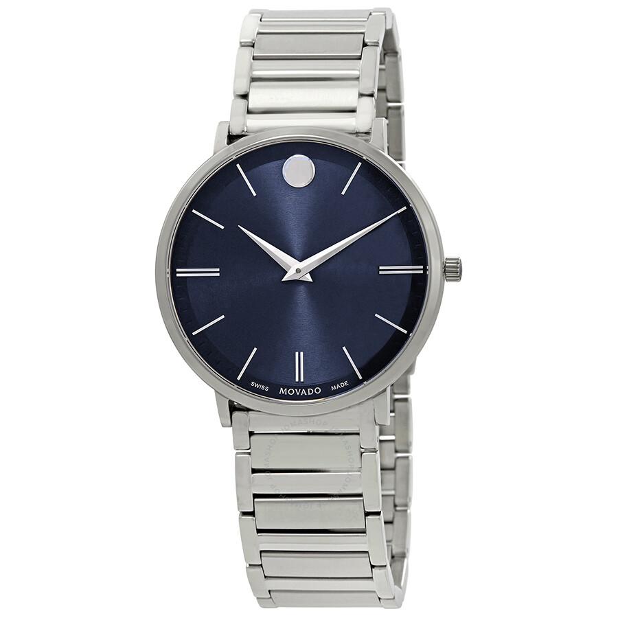 342e7316d17 Movado Ultra Slim Blue Dial Men s Watch