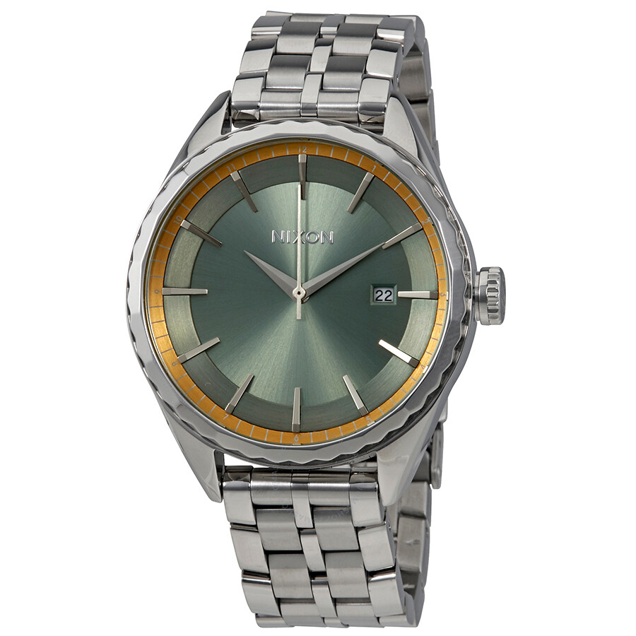 Nixon Minx Sage Dial Ladies Steel Watch A934-2162-00 ...