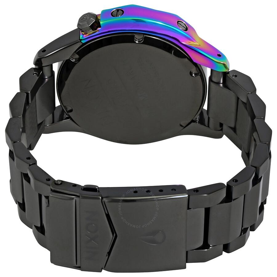 ... Nixon Monarch Black Dial Gunmetal Ladies Watch A288-1698-00