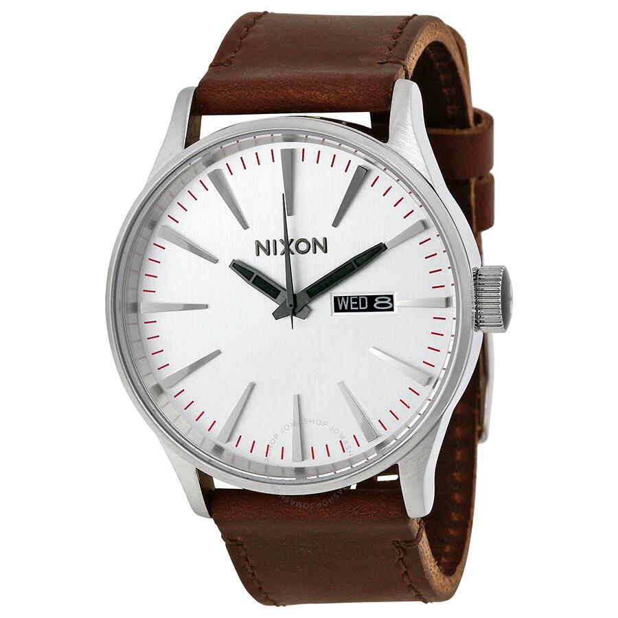 nixon sentry leather s a1051113 nixon